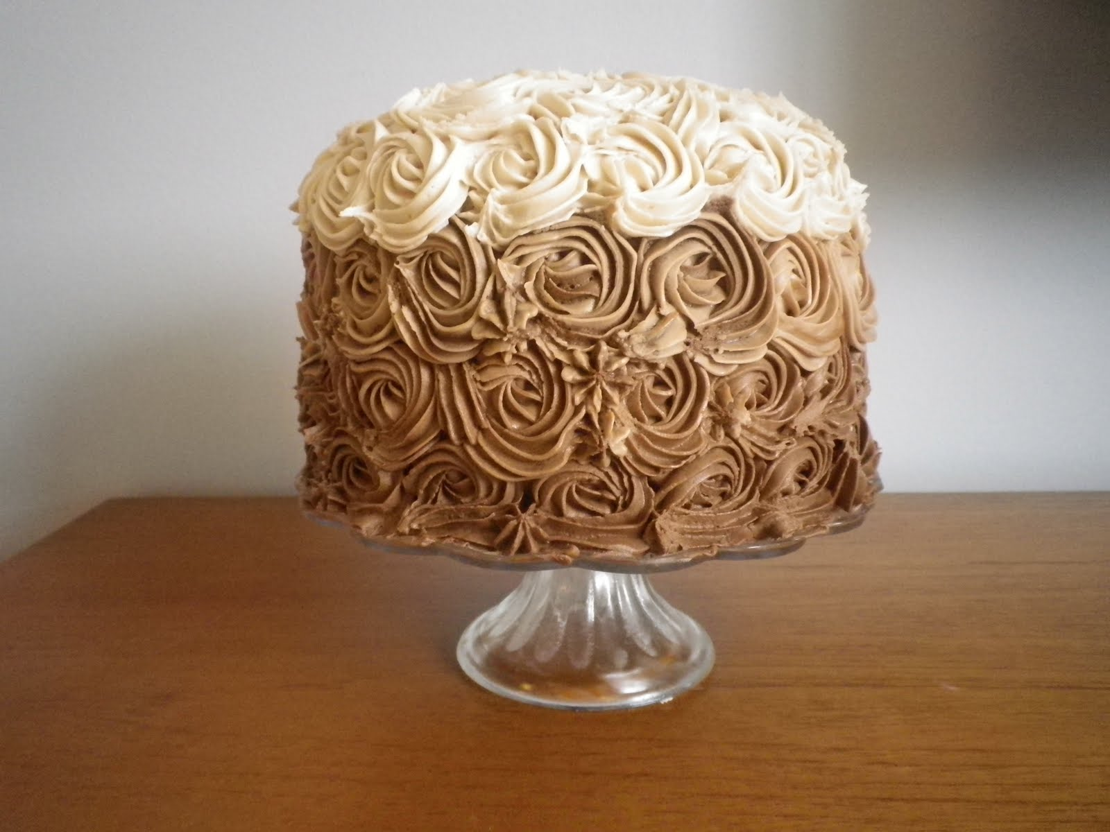 Geekarilla Chocolate Ombre Cake