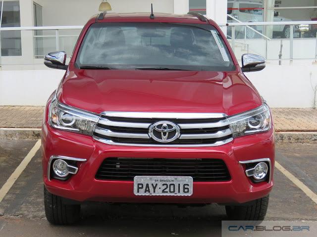 Toyota Hilux SRX A/T 2016