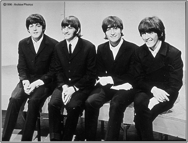 a comparison of the john lennon and paul mccartney from the music band the beatles 2011-8-31 things we said today: a linguistic analysis of the beatles  john lennon, paul mccartney,  immerse himself in music, resulting in his starting his own band,.