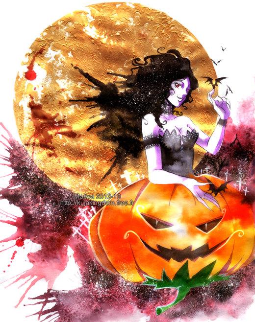 Halloween 2012 por Maevachan