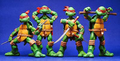 Tartarugas Ninja NECA Action Figures