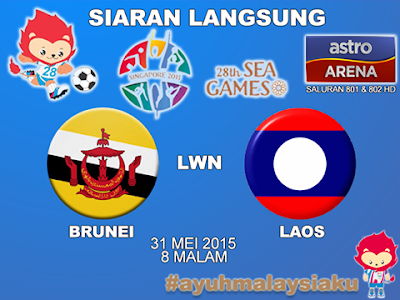 laos vs brunei