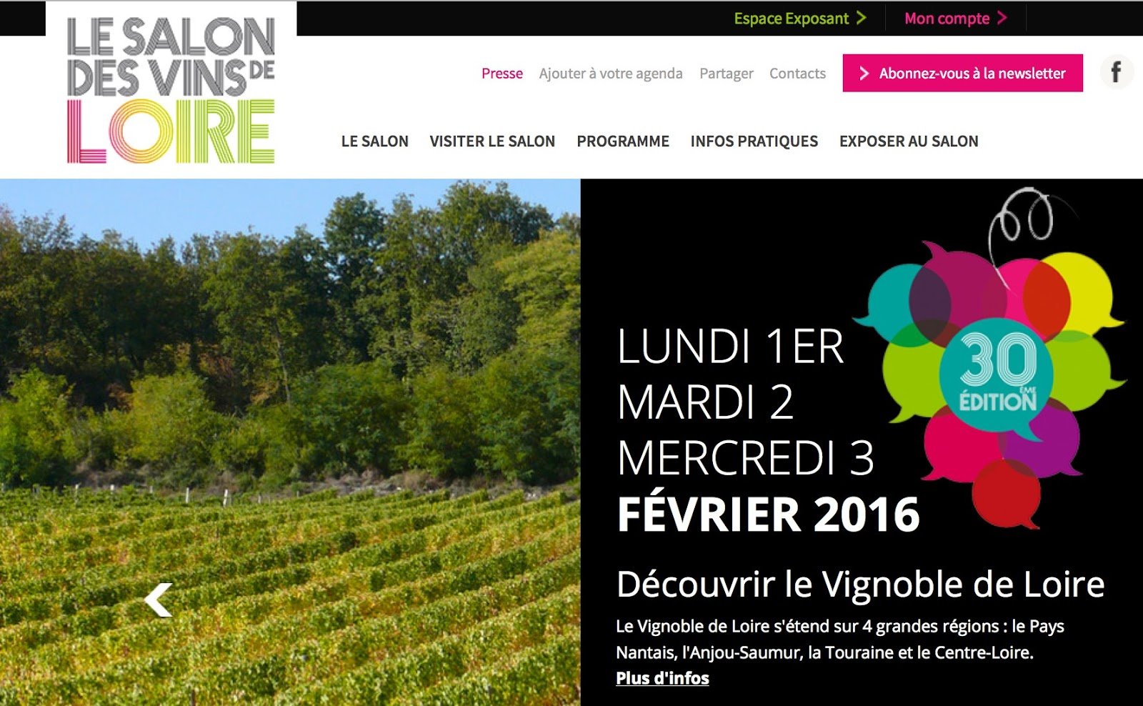 Jim 39 s loire 30th salon des vins de loire a few photos - Salon des vins ampuis ...