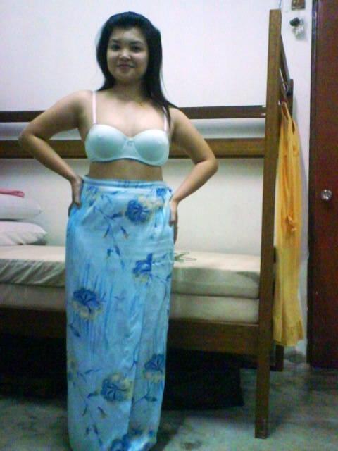 Baju Kurung Biru melayu bogel.com