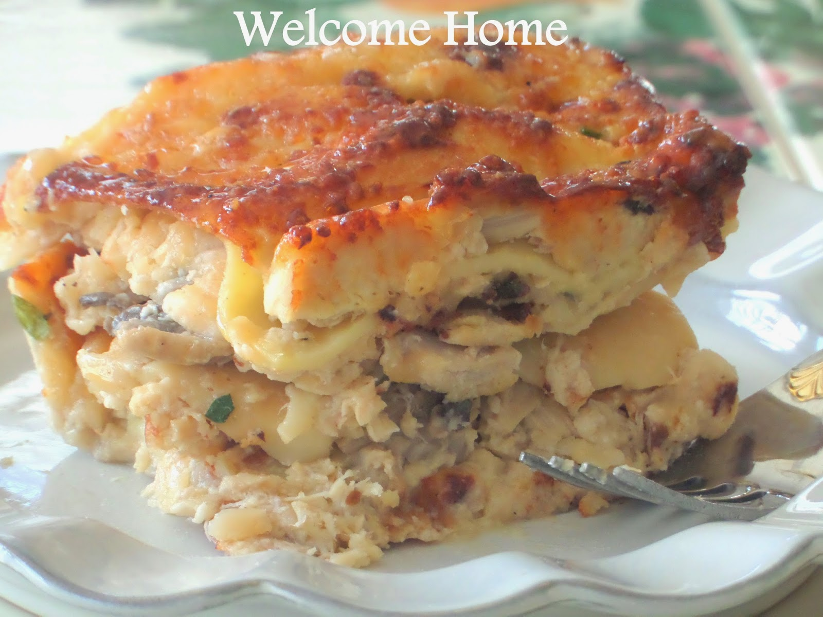 Welcome Home Blog Seafood Lasagna