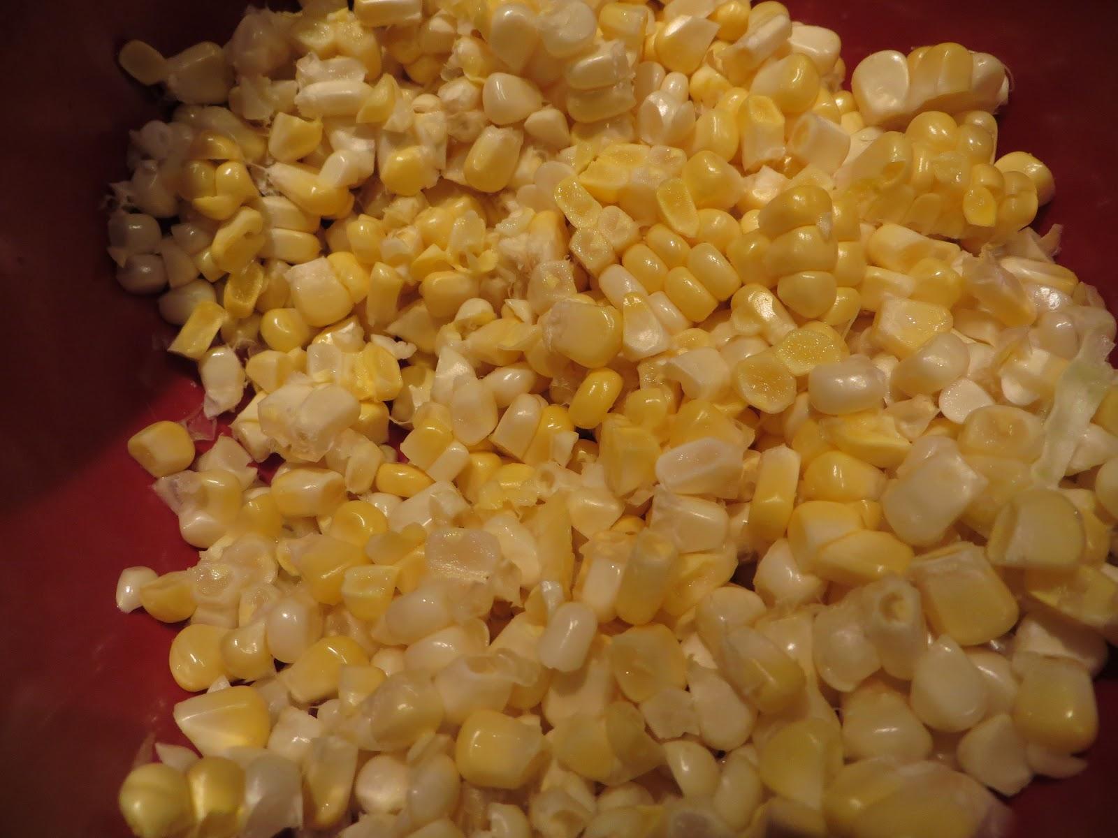 gastronomic nomad: Creamy Harissa-Corn Soup