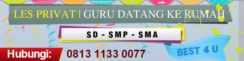 Guru Les Privat di Karawaci Tangerang | 0813 1133 0077