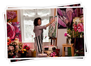 How to paint blooms - Online Art lessons