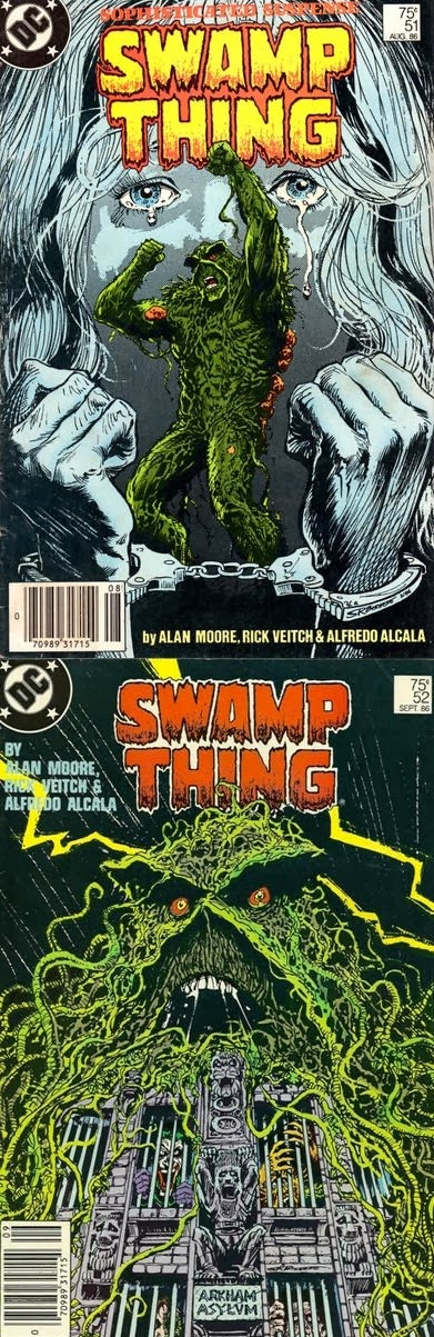 Swamp Thing # 51 52 - Moore, Veitch Alcalá