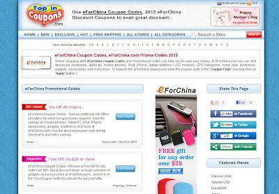 eforchina coupon code