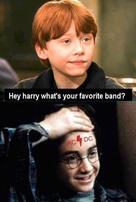 Harry Potter Tells His Favorite Band's Name!