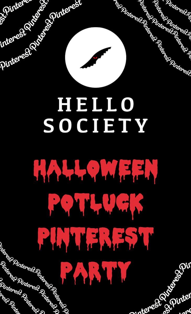 Hellosociety Halloween Potluck Pinterest Party