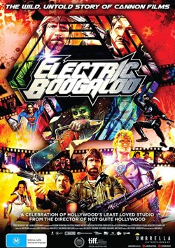 Póster de 'Electric Boogaloo: The Wild, Untold Story of Cannon Films'