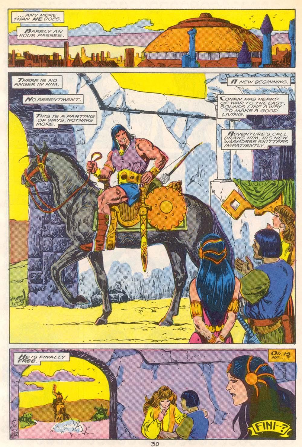 Conan the Barbarian (1970) Issue #209 #221 - English 23