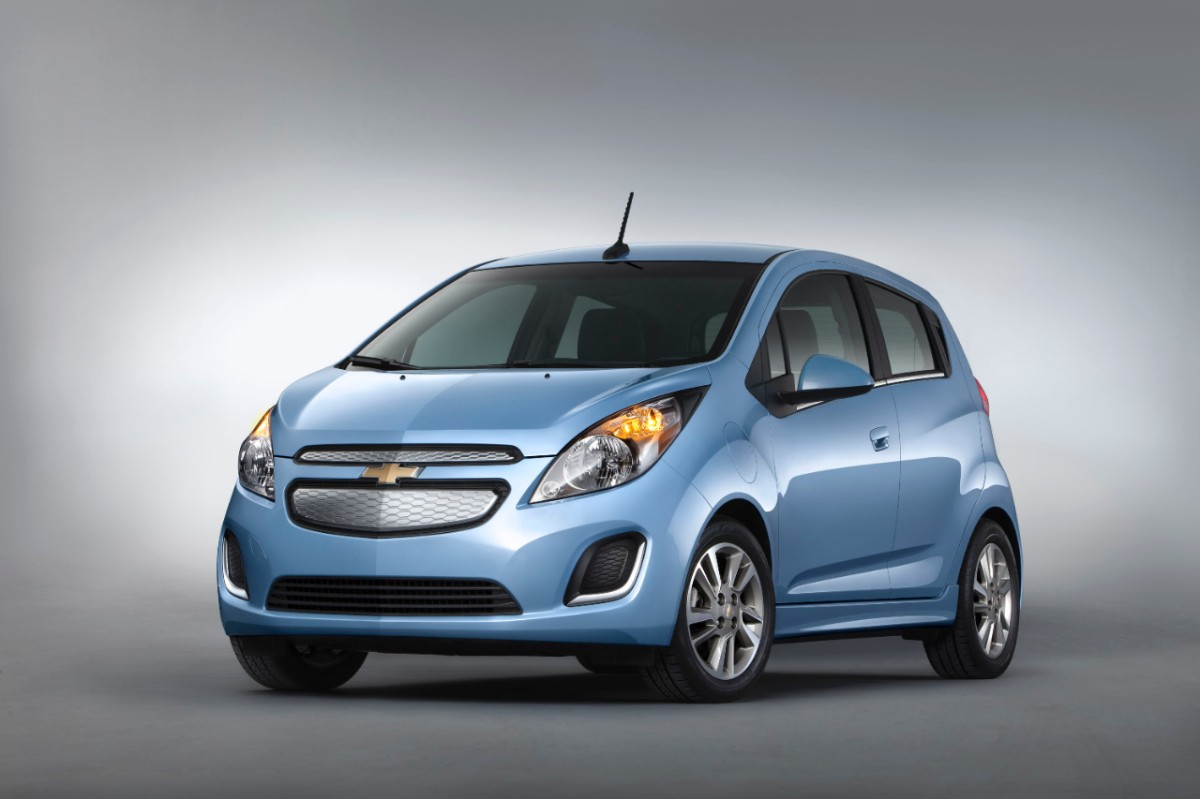 2014 Chevrolet SparkEV 006 medium chevrolet spark ev priced under $25,000 [video] electric vehicle 2014 Chevy Spark Interior at crackthecode.co