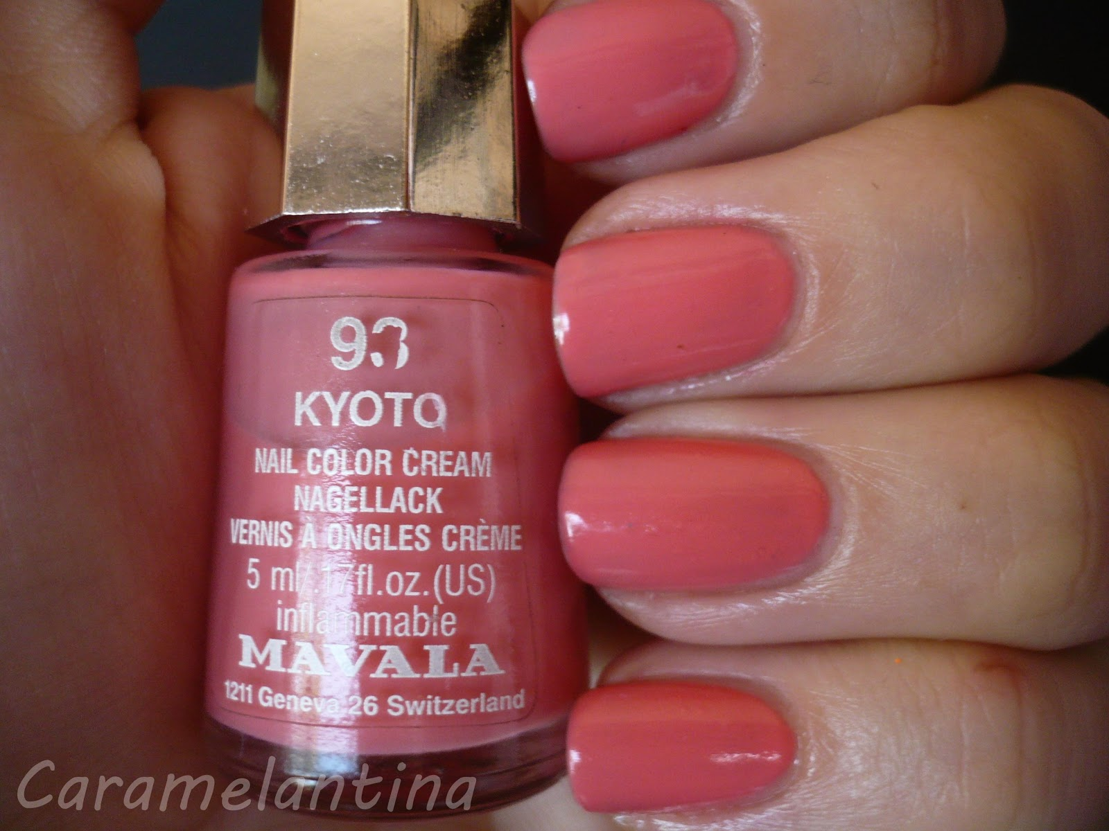 Mavala Kyoto, opiniones swatch review