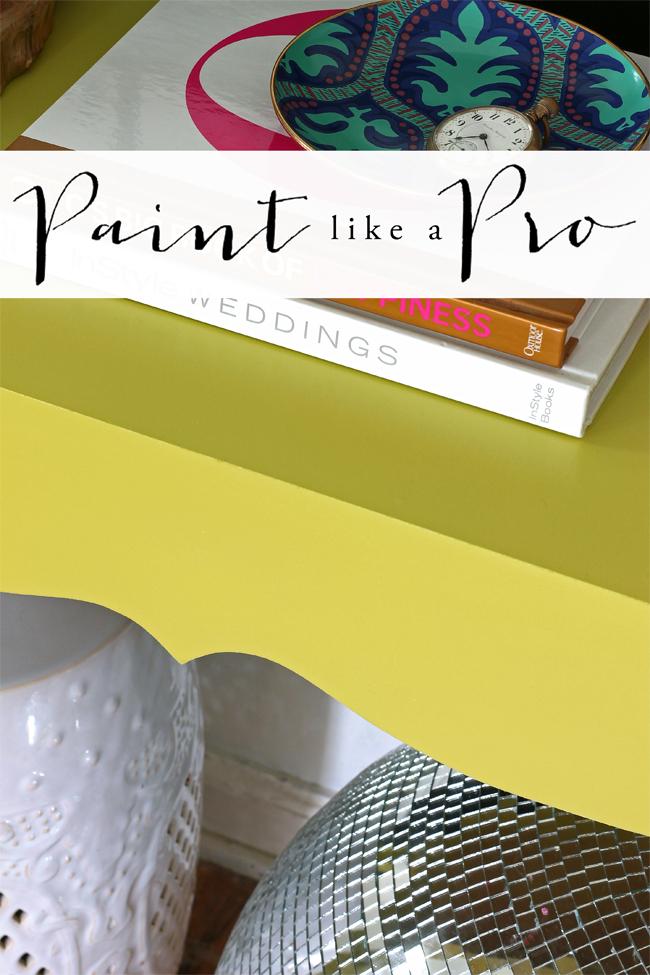 hunted interior using a paint sprayer. Black Bedroom Furniture Sets. Home Design Ideas