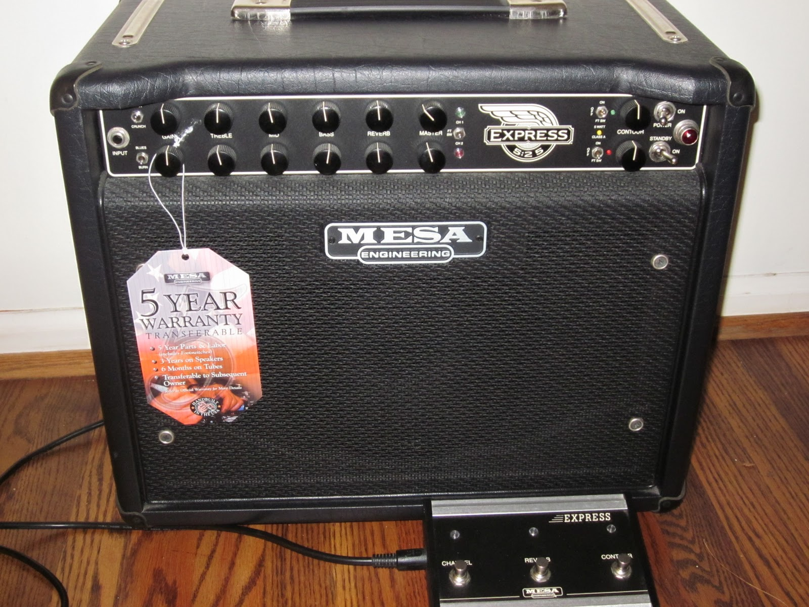Mesa boogie express 5 25 guitar amp for sale for Mesa boogie express 5 25