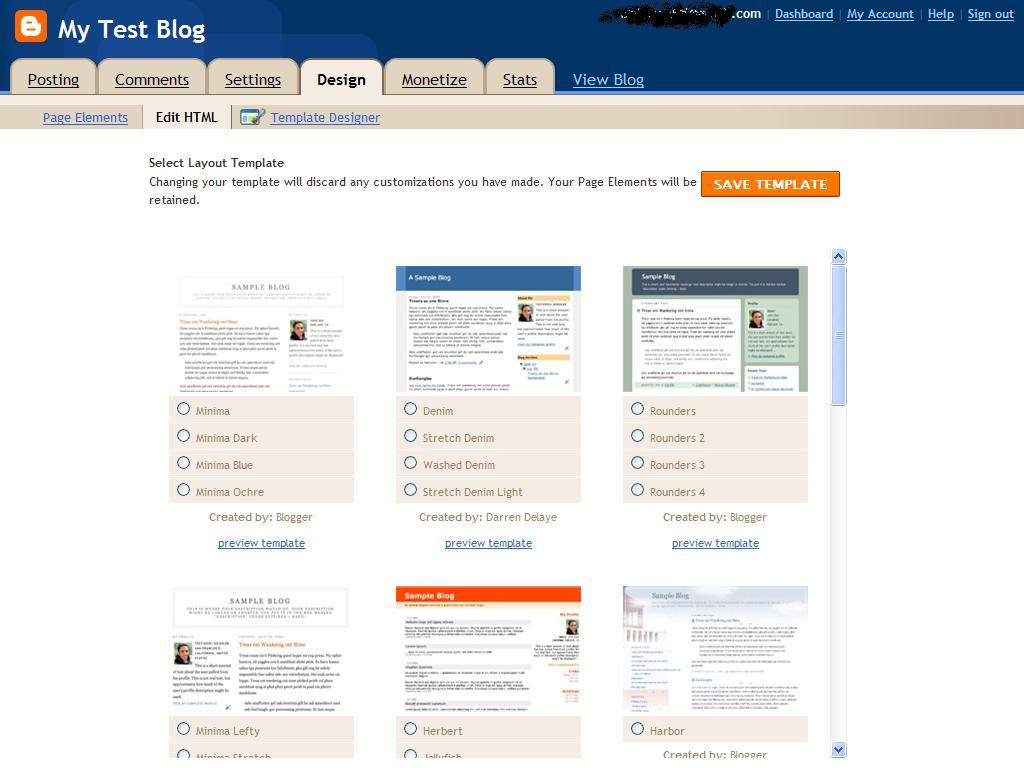 how-to-create-a-blog-in: Edit HTML in Blogspot