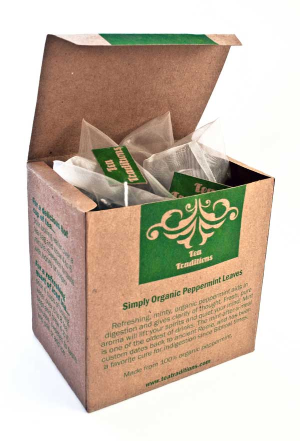 Eco-Friendly Tea Packaging Design