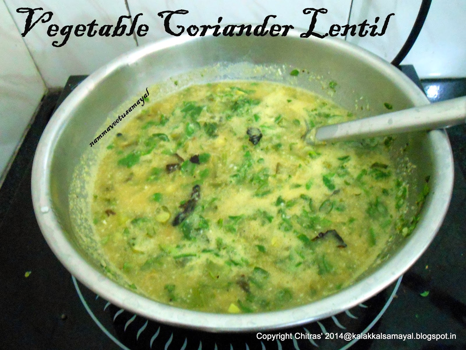 Vegetable Coriander Lentil