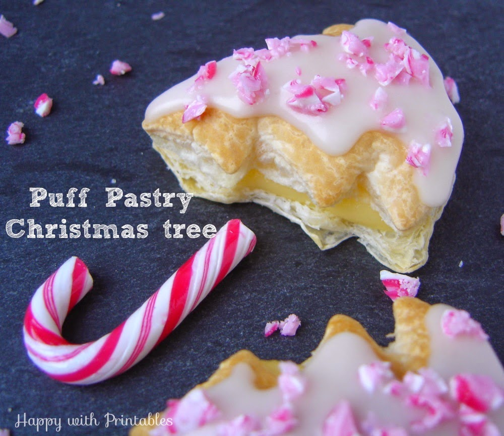 Christmas dessert, Puff Pastry cookies, Christmas puff pastry, puff pastry recipe,