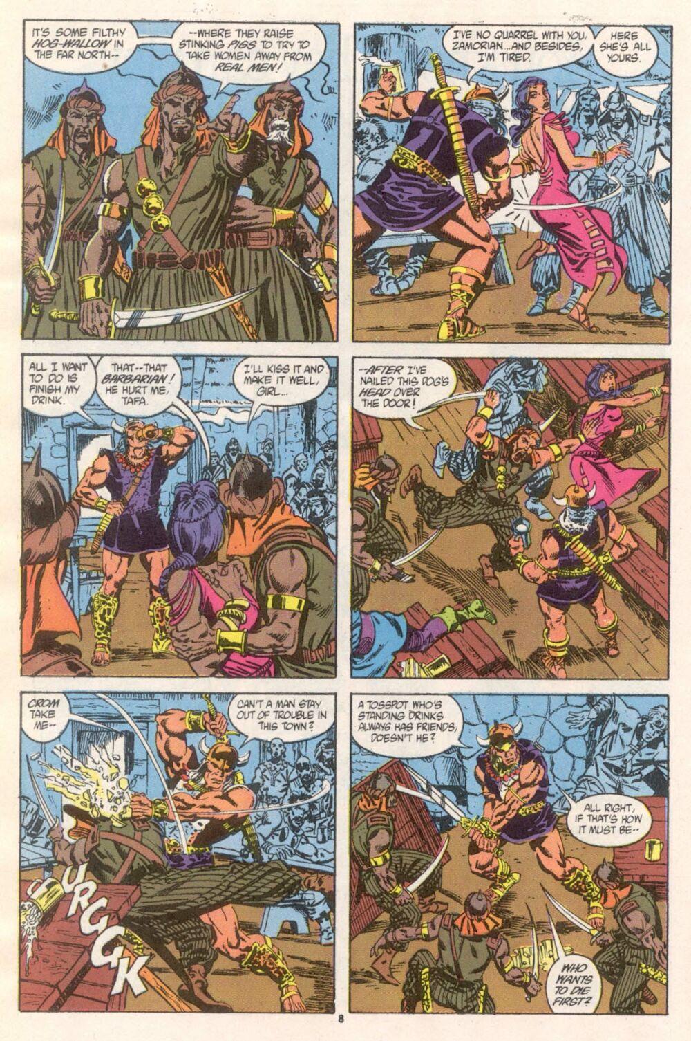Conan the Barbarian (1970) Issue #241 #253 - English 7