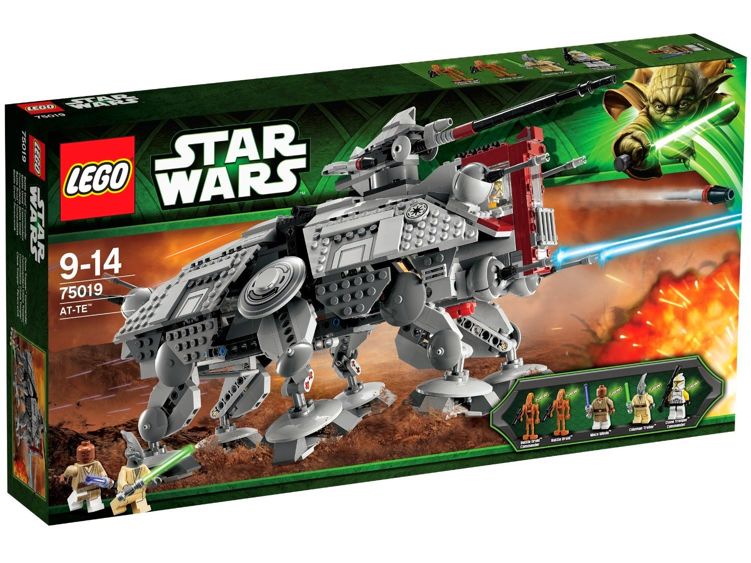 Caja Lego Star Wars AT-TE (75019)