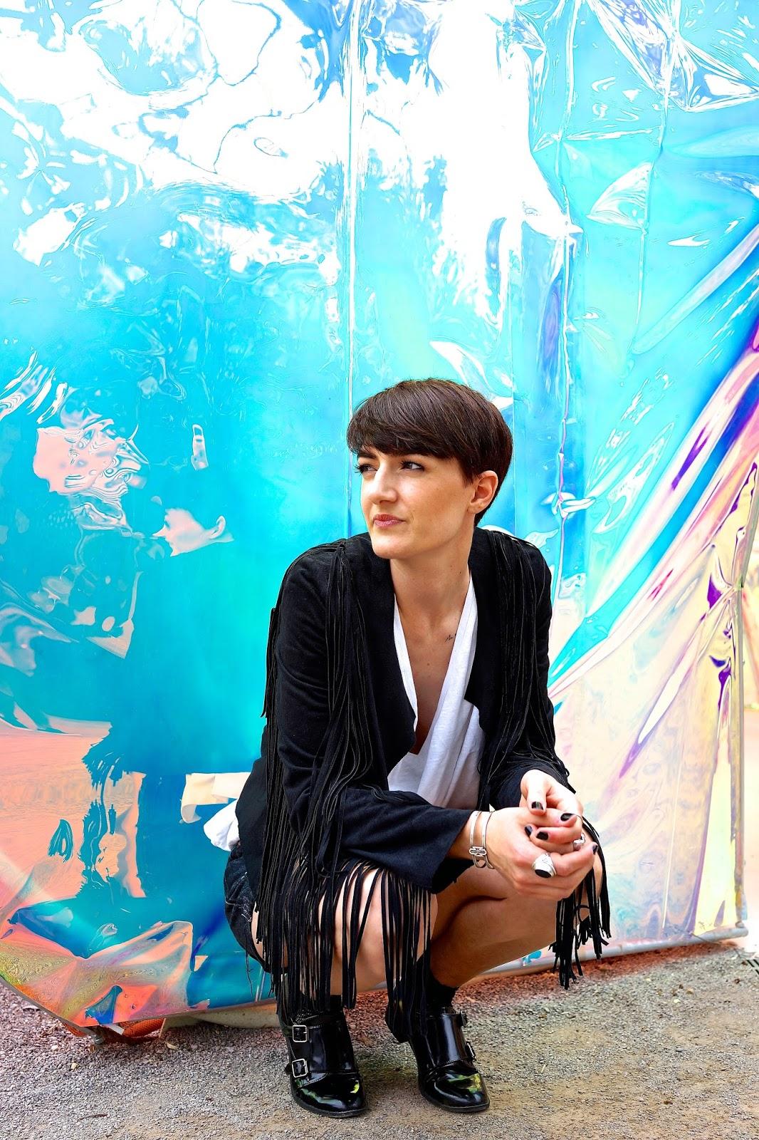 Pavilion Reflects Serpentine Pavilion Gallery London Primark jacket Levi's short antelope shop tshirt www.lexieblush.co.uk