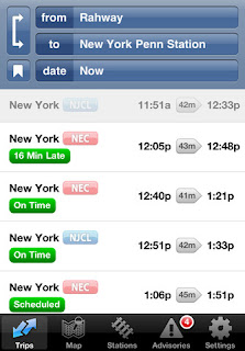 iPhone Transit Apps