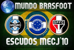 Escudos MECJ'10 Brasil - Brasfoot 2011