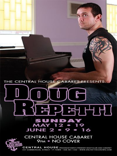 photo - Doug Repetti  Piano Man  Tonight  9pm - No Cover Central House Cabaret