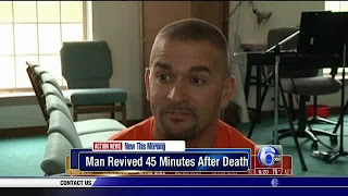 Man declared dead for 45 minutes returns to life