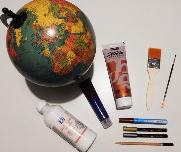 DIY : Un globe à constellations