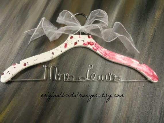 Custom Wedding Dress Hangers 32 Popular I just love when