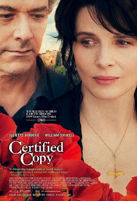 Certified Copy, Movie, poster