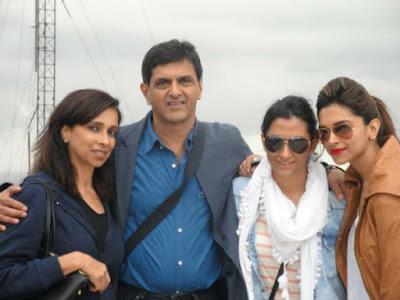 Deepika Padukone family images