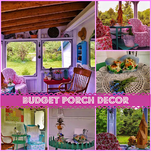 Vintage Budget Porch Decor