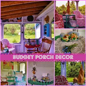 Vintage Budget Porch Decor