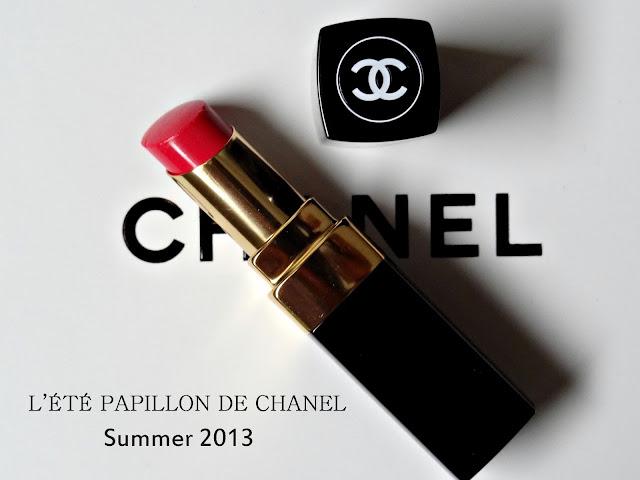 L'ÉTÉ PAPILLON DE CHANEL Summer 2013 Rouge Coco Shine in Pygmalion