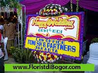 Bunga Papan Ucapan Pernikahan di Bogor