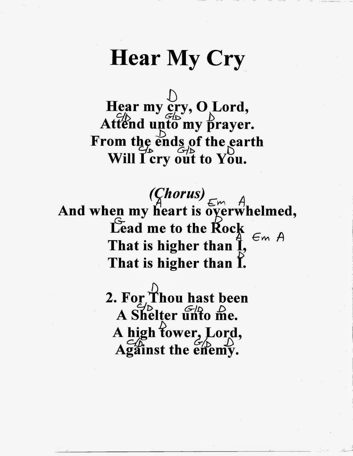 Alleluia - Lyrics - Angelfire