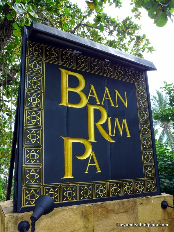 Baan Rim Pa, Royal Thai Restaurant, Patong