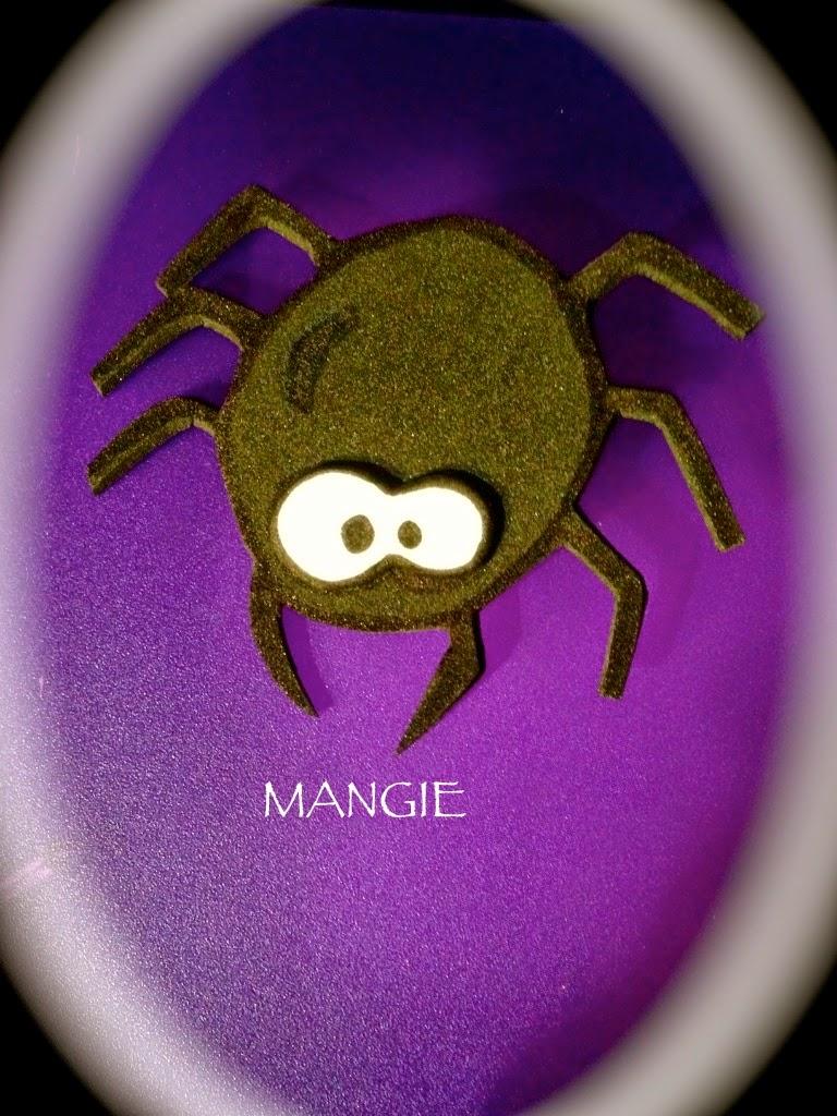 Broche araña