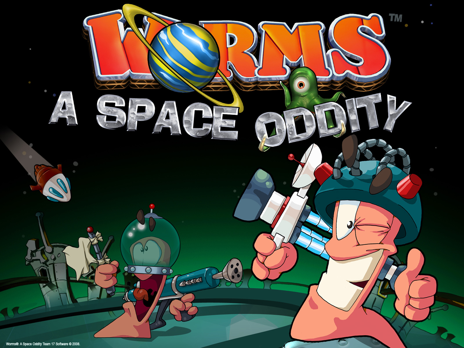 Worms game wallpaper