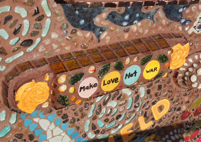Mosaic Guitar detail