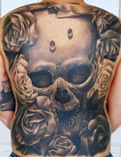 Ideias tattoo de caveiras