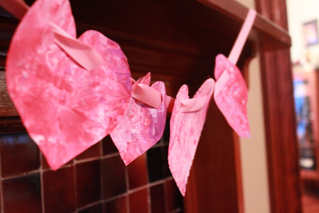 Valentine's Day Art Garland