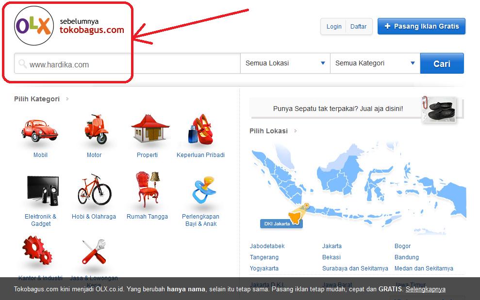 Tokobagus.com Ganti Nama Jadi OLX.co.id, Ada Apa? http://www.hardika.com/