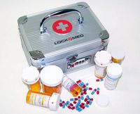 Pill Po Prescription Drug Lock Box -